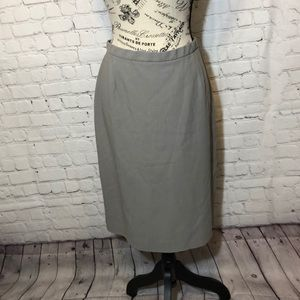 Giorgio Armani Wool Skirt Italy Lined